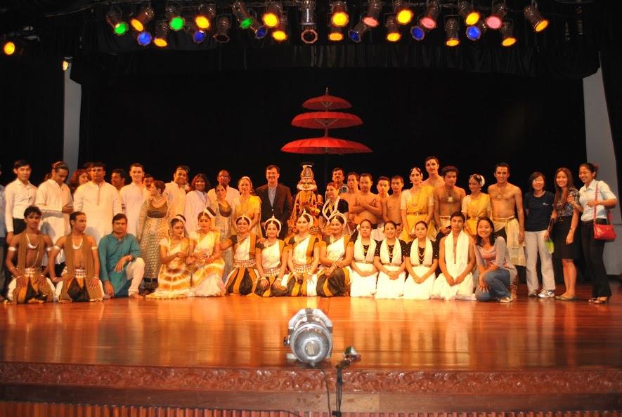 Charishnu dance artists