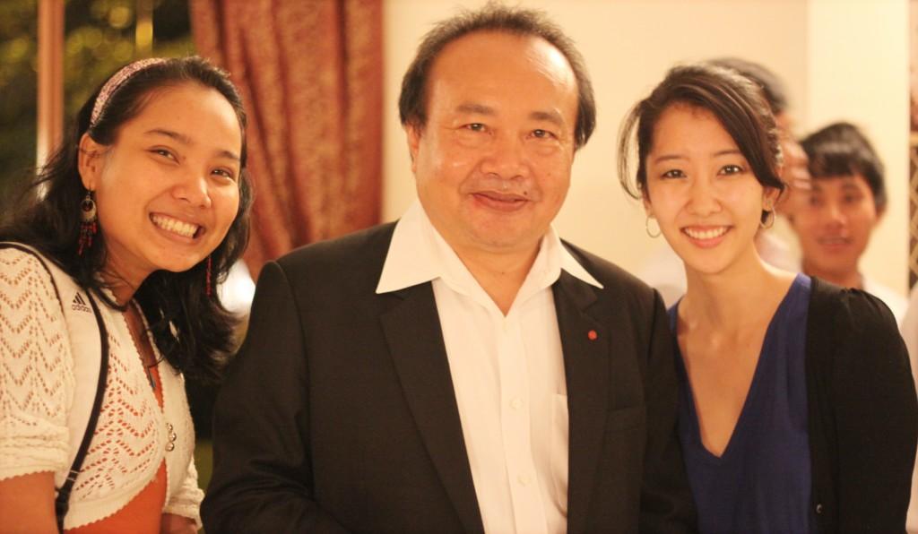 Me, Rithy Panh, & Lisa Kim