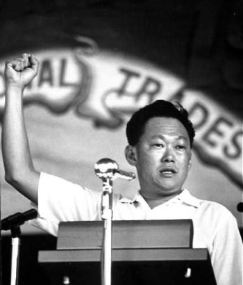 Lee Kuan Yew in 1965