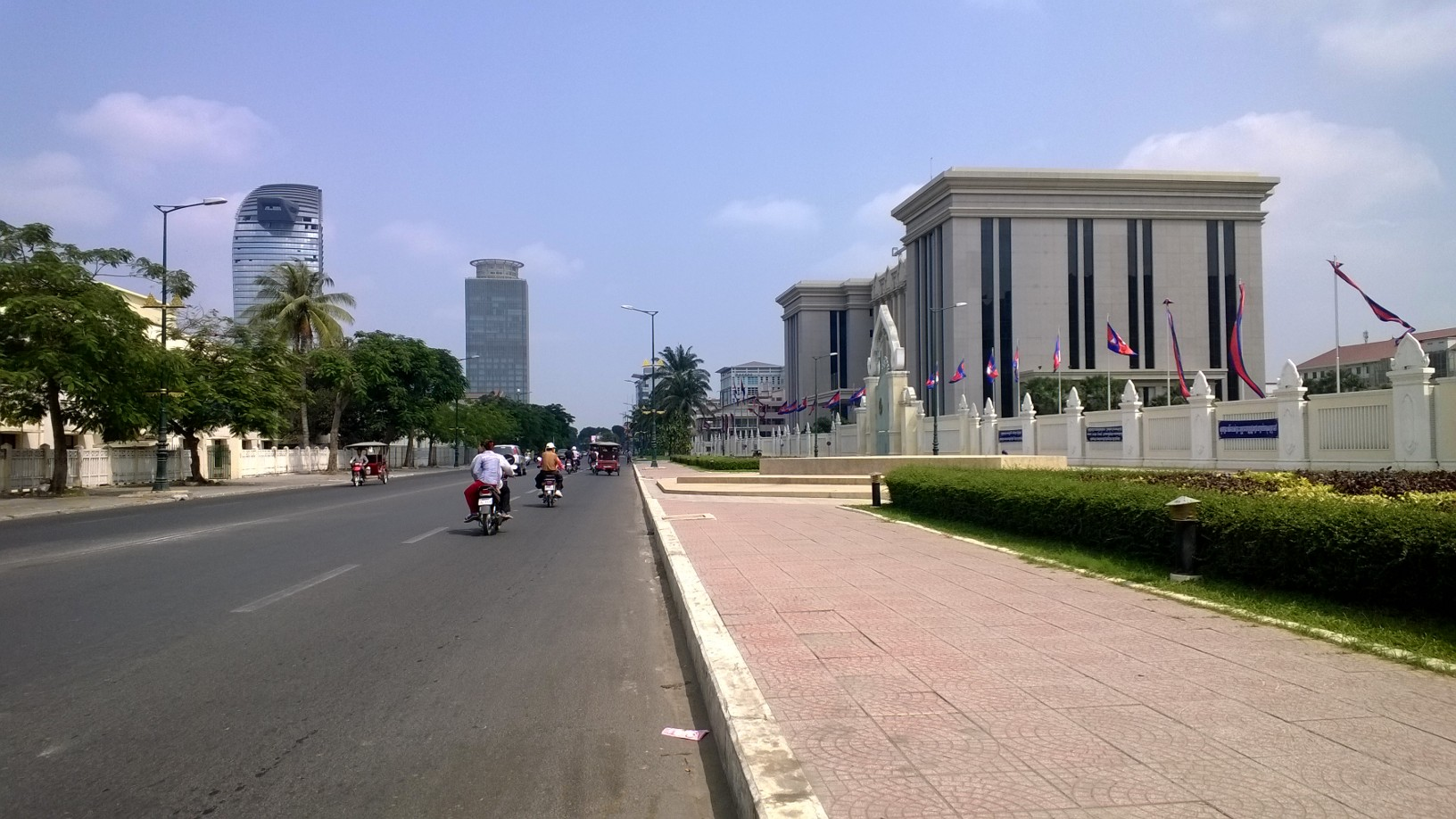 Phnom Penh today. Photo credit: Blue Lady Blog