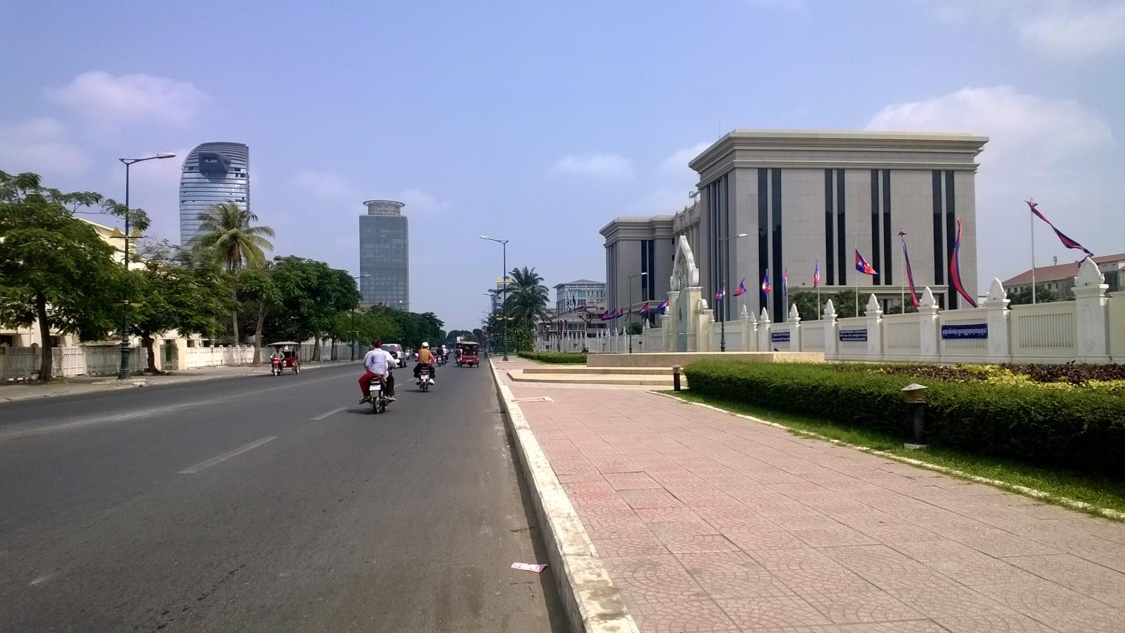 Phnom Penh today. Photo credit: Blue Lady Blog