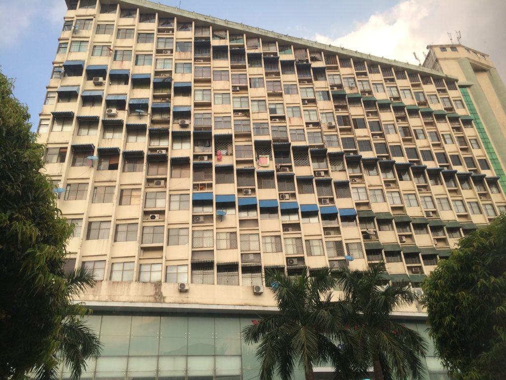 A building found in Yangon